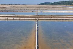 The salt works in Seovlje (salutaryKs) Tags: sea fuji salt slovenia fujifilm x100s