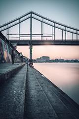 Parkovyi Bridge | Kiev, Ukraine 2016 (philippdase) Tags: sunset summer cityscape waterfront citylife ukraine chillin kiev leebigstopper nikond7100 sigma1835mm18 parkovybridge philippdase