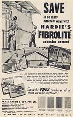 James Hardie 1957 (Runabout63) Tags: james asbestos hardie fibrolite