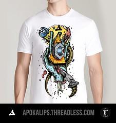 APOKALIPS (FORK4 / AFX / SW307 / UBS) Tags: street shop design hungary budapest apocalypse style tshirt wear afx apokalips