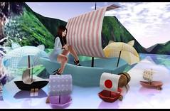 LOTD 447 (Hyzura) Tags: boats sl kawaii tetra emporium oleander plastik sweetthing amala igotit pinkfuel cubiccherry