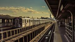 New York (rajko.bundalo) Tags: new york train metro empirestate schienne