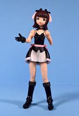 Amami Haruka action figure by Kaiyodo (incomplete) (FranMoff) Tags: anime japanese maid kaiyodo idolmaster amamiharuka frauleinrevoltech