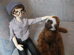 Time for Adventure 003 (EmpathicMonkey) Tags: toby ball toys happy monkey photo dolls olive story bjd jointed bluefairy