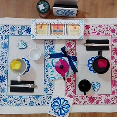 Breakfast (Myolica) Tags: myolica maiolica madeinitaly handmade dipintoamano puglia colazione caff breakfast coffee