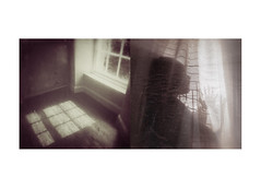 Yesterdays (mark kinrade) Tags: rays silhouette nostalgia shadows light diptych