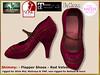 Bliensen - Shimmy - Flapper Shoes - red velvet (Plurabelle Laszlo of Bliensen + MaiTai) Tags: flapper shoes pumps vintage 1920s dancing ballroomshoes vintageshoes retro 1930s belleepoque artnouveau