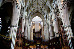 York Minster - The quire and high alter architecture 2 (LostnSpace2011 - Slowly catching up) Tags: york cathedral yorkminster minster jorvik