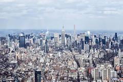 Nueva York (patel-isha) Tags: city nyc newyorkcity summer urban sun ny newyork landscape lights spring pretty cities empirestatebuilding empirestate wtc urbanjungle nuevayork
