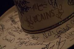 Carlene Carter-41 (redrospective) Tags: music london hat closeup concert live gig bands cowboyhat memorabilia signed 2016 carlenecarter o2islington 20160611