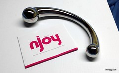 Njoy Pure Wand, for men and women (mr.racy) Tags: njoy pure wand male prostate gspot stainless steel sex toy hard big bulbous man woman men lady cold shiny mrracycom prostatemassage sextoy