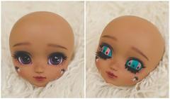 Apolline  (Pliash) Tags: black star doll dolls circus goth bat full pullip custom madeleine madeleinedolls