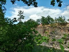 Chwakw quarries (nesihonsu) Tags: sky outcrop cliff lake storm water pool weather clouds landscape rocks poland polska geology quarry precipice stormclouds waterscape cumulonimbus geologia anvilcloud staw turquise chmury jeioro kamienioom lowersilesia chwakw masywly przyrodapolska natureofpoland przedgrzesudeckie geologiapolski foresudeticblock sudeticforeland rwninawidnicka