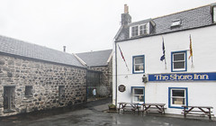 The shore inn (Chris B70D) Tags: trip friends summer mist storm beach rain weather landscape coast scotland highlands scenery waves cloudy no exploring north scottish we more dont end need uni elgin findhorn kinloss portsoy eduction