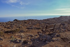 Dingli countryside landscape (J.G.C. Photography) Tags: malta mediterranean seaside seashore countryside rocks plants nature sea island bench landscape