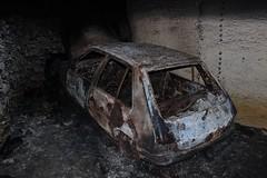 Peugeot 205 C (GL 1987) 2 (Raphael Drake) Tags: abandoned car underground voiture wreck peugeot abandonne 205 peugeot205 carriere epave quarrex