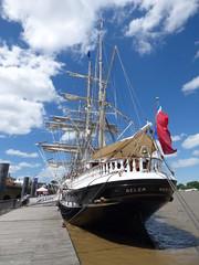 Le Belem (yann.calohard) Tags: marine belem quai nantes cole voilier barque franaise bteau
