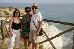 Jole_Lucio_Maria_Scala_dei_Turchi_5132 (Manohar_Auroville) Tags: girls sea italy white beach beauty seaside rocks perspectives special scala sicily luigi dei agrigento fedele turchi scaladeiturchi manohar