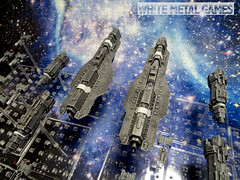Halo Fleet Battles (whitemetalgames.com) Tags: white game fall scale metal painting 1 nc video space painted military halo games raleigh hobby scifi service reach 10000 commission 000 services 182 wmg halofleetbattles110