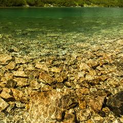 Liquid (Walter Quirtmair) Tags: ifttt 500px water lake green brown abstract rocks liquid alps mountains pond pool quirtmair light