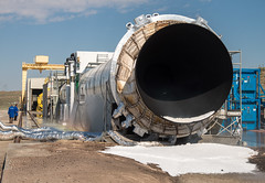 Booster Test for Space Launch System Rocket (NHQ201606280022) (NASA HQ PHOTO) Tags: usa utah nasa promontory testarea billingalls spacelaunchsystemsls qualificationmotortestqm2