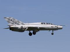 MIG-21UMD 167 CLOFTING IMG_5900FL (Chris Lofting) Tags: force air zagreb 116 167 croatian 118 mig21 hrz pleso fished ldza