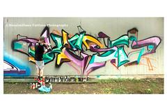 6932 (Massimiliano Fattizzo p.) Tags: street blackandwhite italy streetart milan colors graffiti colours milano colori