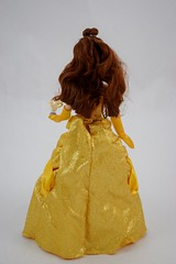 2016 Belle Classic 12'' Doll - US Disney Store Purchase - Deboxed - Standing - Full Rear View (drj1828) Tags: disneystore doll 12inch classicprincessdollcollection 2016 purchase belle beautyandthebeast chip deboxed standing