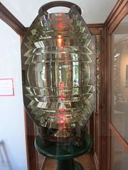 IMG_2387 Fresnel lens for lighthouse (jgagnon63@yahoo.com) Tags: lighthouse uppermichigan escanaba sandpointlighthouse deltacountyhistoricalmuseum deltacountymi deltacountyhistoricalsociety