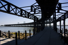 Huelva, Spagna (Deivid82) Tags: huelva spain spagna muelles pier laguna lagoon water agua oceano mar mare sea
