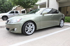 Speed Shield Lexus IS350, Jade Green, rocker panels (speed shield) Tags: plano addison frisco lexus is350 lexusis350 clearbra rockerpanels clearbras speedshield clearbradallas paintprotectionfilmdallas speedshieldclearbra customclearbras