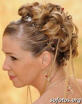 Penteados para noiva 204