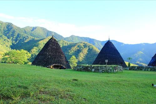 The village, Wae Rebo, Flores, Indoensia
