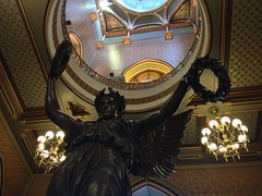 image (MPGuinan Photos) Tags: statue capitol dome genius hartford iphone