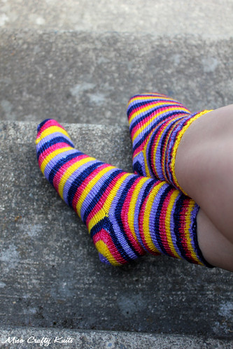 April Showers Socks - Aerial