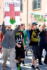 Medicine and Plants (Xrayeye) Tags: street plants signs philadelphia nikon smoke south protest pot medicine groups d5100