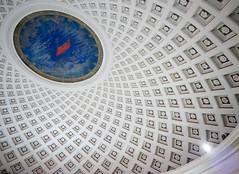 Soviet Pantheon (kishjar?) Tags: underground metro moscow flag soviet dome celling stalinist taganskaya