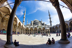 Blue Mosque (nacaseven) Tags: blue turkey istanbul mosque trkei sultan ahmed sultanahmed
