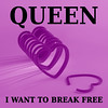 """I Want to Break Free"" .. Queen (judith511) Tags: lyrics song queen freddymercury breakfree iwanttobreakfree singlecover ourdailychallenge"