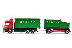 """MAN TGS LX """"Bühler"""" (Pumpkin Kuma) Tags: man truck model transport ho 187 tgs lkw herpa"""