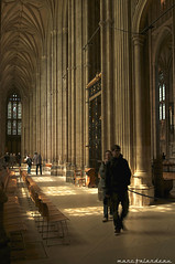 INSIDE CANTERBURY CATHEDRAL (marc falardeau) Tags: light vacation england spring nikon shadows cathedral sunday may canterbury amateur gayphotographer highmass d300s