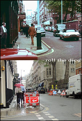 Two a Penny`location 1967-2013 (roll the dice) Tags: uk trees music london art history classic film westminster fashion shopping shadows traffic cab taxi faith religion piccadilly pop christian collection shirts drugs singer actor local christianity filming sixties locations sw1 parkingmeters billygraham oldandnew jermynstreet obe pastandpresent bygone hereandnow livingdoll harrywebb