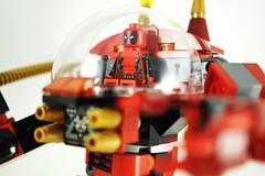 Deadpool and Mech.01 (weesen) Tags: red lego mech deadpool