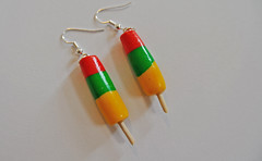 Ice Lolly Earrings (JosieMM1013) Tags: cute handmade crafts jewellery polymerclay clay icecream earrings colourful etsy quirky polymer icelolly etsyshop cuteandquirkygirl