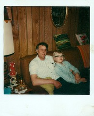 Dad and Me (haunted snowfort) Tags: family ontario canada love polaroid dad jake jacob father glen 1978 fathersday grandparentshouse happyfathersday beamsville 44eastavenue