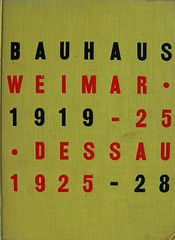 Book cover Bauhaus Weimar 1919-25 (Crossett Library Bennington College) Tags: weimar bauhaus bookcover bookcoverdesign