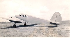 T-50 first flight, Dwane & Dwight, Mort- photos #2 (San Diego Air & Space Museum Archives) Tags: mortbrown cessna testpilot prototype aircraft airplane cessnaaircraftcompany cessnaaircraft cessnamodelt50 cessnat50 t50 bamboobomber