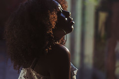 Day 11/365 (MarcelleAdrianna) Tags: light sunset summer portrait selfportrait colour london art girl yellow self hair nikon adrianna curly marcelle cellie project365 marcelleadrianna