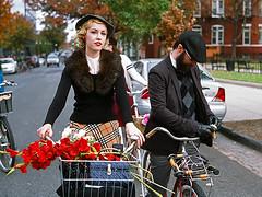 8760-18Crop (furcafe) Tags: washingtondc chinatown bicycles mtvernonsq fujiprovia100f galleryplacechinatown eastmankodakektrac194041 dandiesquaintrelles bicyclespace 20111113 kodak5019ektarc1945 tweedride2011