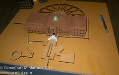 Building a base for the Al Sijood Palace (GameCraft) Tags: terrain game building miniatures miniature model scenery board iraq middleeast palace baghdad wargame 6mm gameboards microarmor 1285th microarmour 285th gamecraft gamecraftminiaturescom tacii tacforce alsajood